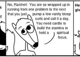 26.Cardio-260x185 Personal Growth Comic - Ratchet & Spin