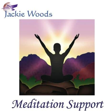 Meditation Support by Jackie Woods