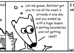 Driving-Miss-260x185 Personal Growth Comic - Ratchet & Spin