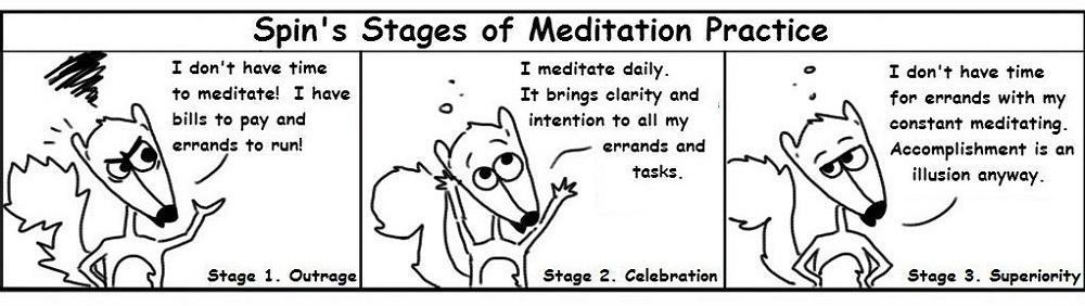 Meditation Personal Growth Comic - Ratchet & Spin
