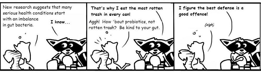 Probiotics Personal Growth Comic - Ratchet & Spin