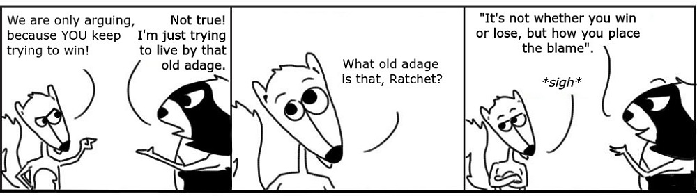Adage Personal Growth Comic - Ratchet & Spin