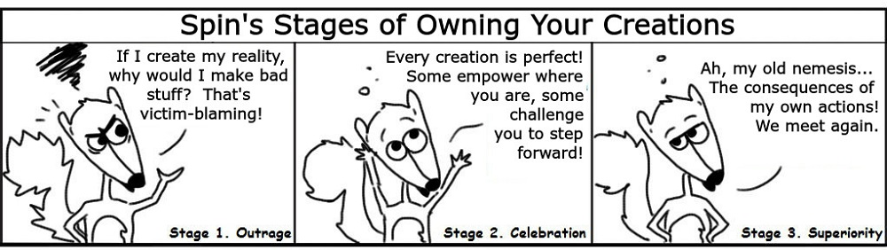 CreationStages Personal Growth Comic - Ratchet & Spin