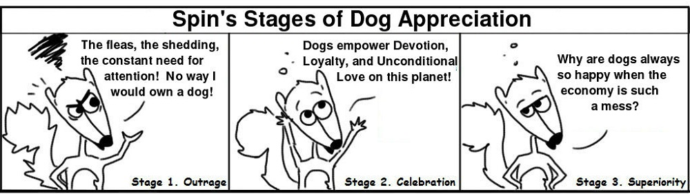 Dogs Personal Growth Comic - Ratchet & Spin