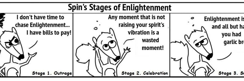 Ratchet & Spin: Enlightenment Stages