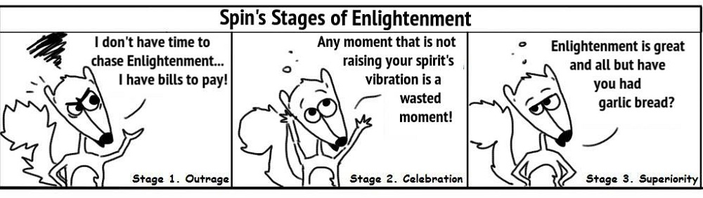 EnlightenmentStages Personal Growth Comic - Ratchet & Spin
