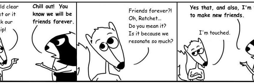 Ratchet & Spin: Friends