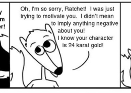 Gold-1-260x185 Personal Growth Comic - Ratchet & Spin