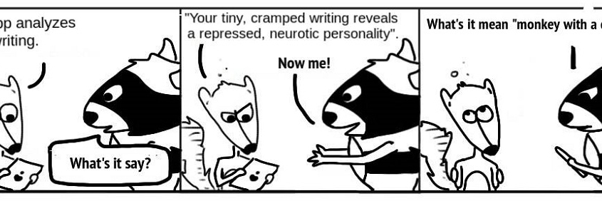 Ratchet & Spin: Handwriting