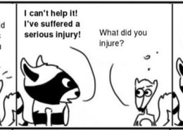 Injury-260x185 Personal Growth Comic - Ratchet & Spin