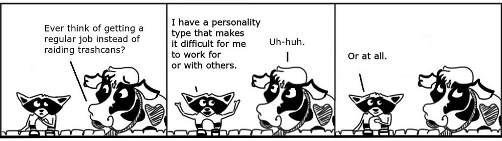 Personality Personal Growth Comic - Ratchet & Spin