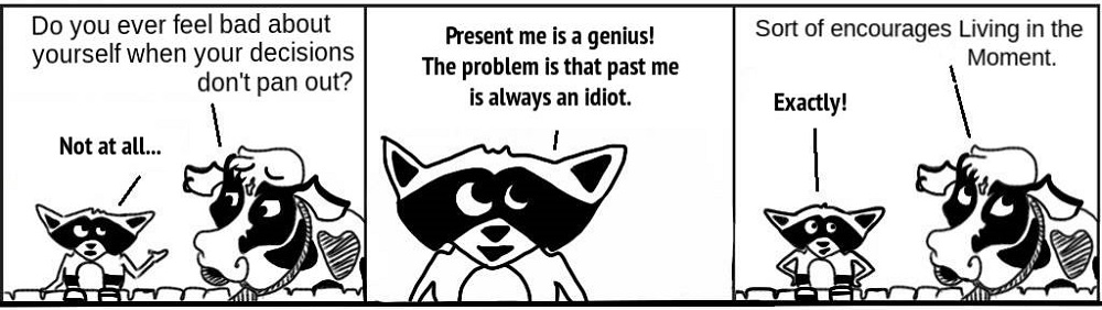 PresentMe Personal Growth Comic - Ratchet & Spin