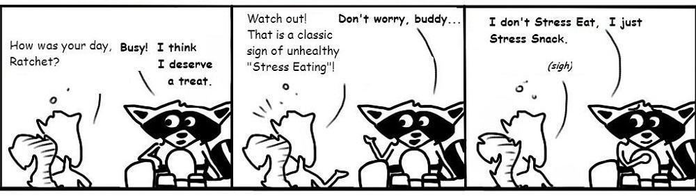 Ratchet_323 Stress Eating