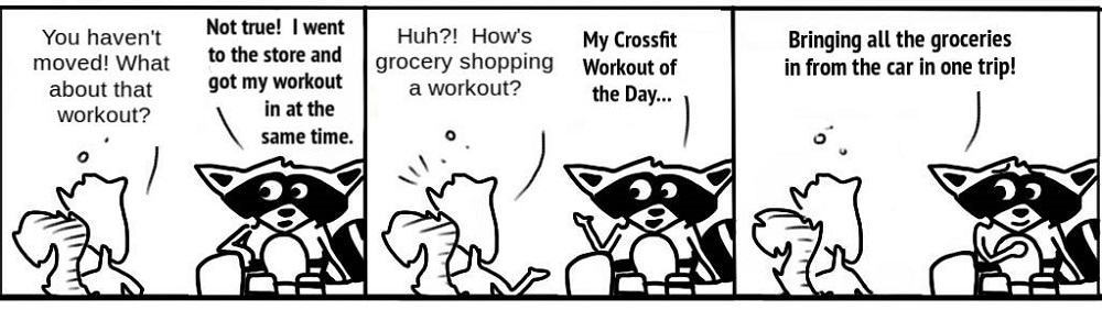 Workout-1 Personal Growth Comic - Ratchet & Spin