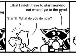 Workout-260x185 Personal Growth Comic - Ratchet & Spin